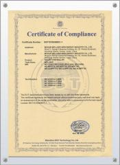 solar controller international certificate